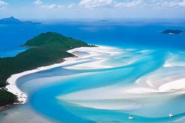 Пляж Whitehaven Beach, Австралия