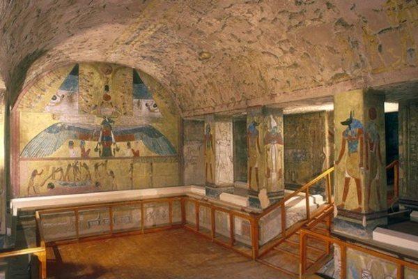 Гробница Таусерт и Сетнахт в Долине царей в Египте