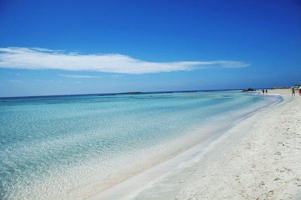 Пляж Elafonissi Beach, Крит