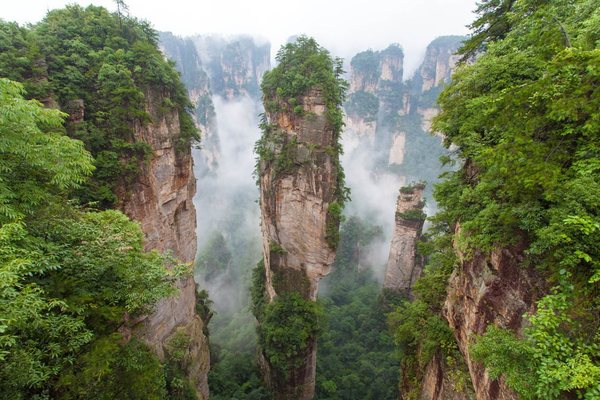 Парк Чжанцзяцзе, Китай