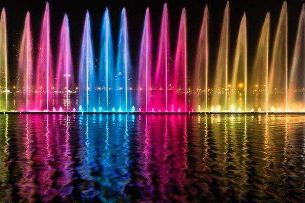 Поющий фонтан Шарджи