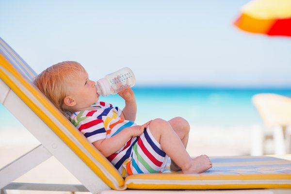 Отдых на море с грудным ребёнком