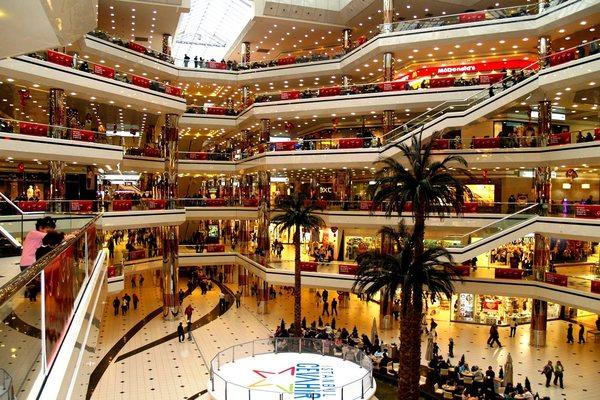 Cevahir Shopping Centre торговый центр в Стамбуле