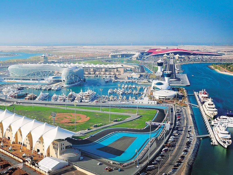 Гоночная трасса Абу-Даби