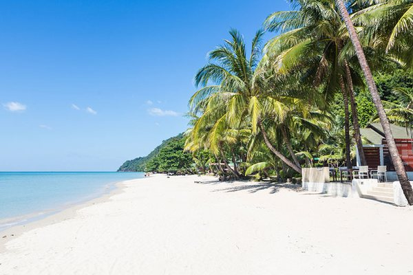 White Sand Beach Ко Чанг Таиланд