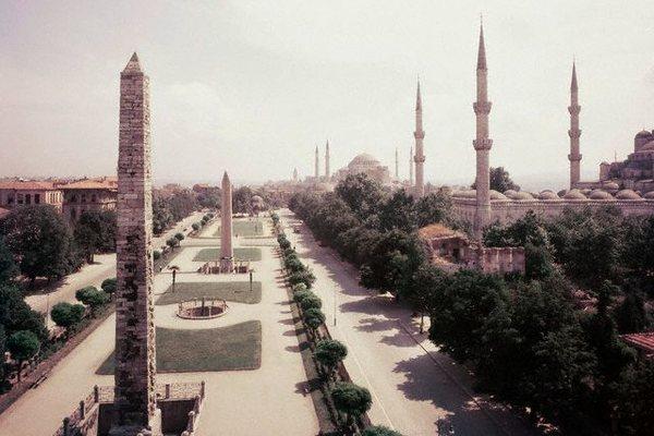Площадь Ахмедие в Стамбуле