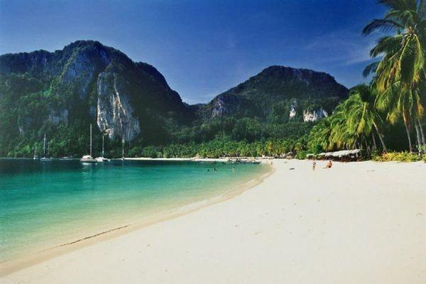 Пляжи острова Пхи Пхи Таиланд