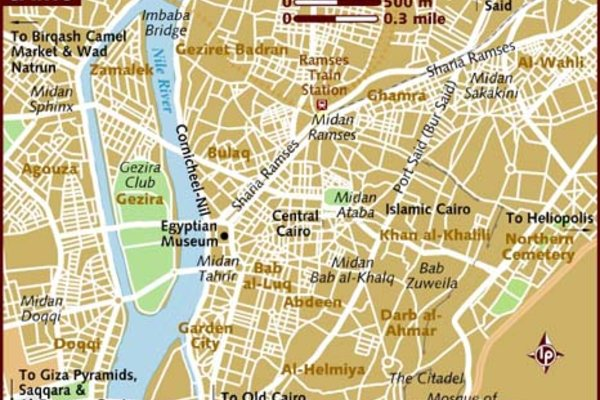 Карта Каира