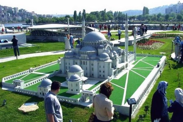 Миниатюрк - парк миниатюр в Стамбуле